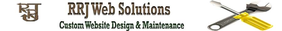 RRJ Web Solutions Logo